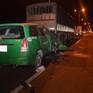 Taxi đâm ô tô tải đậu trên cầu Cần Thơ, 3 người thiệt mạng