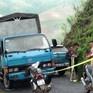 Đã bắt được đối tượng lao xe chở gỗ vào lực lượng kiểm lâm