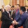 Tổng Bí thư, Chủ tịch nước gặp gỡ cán bộ Văn phòng Chủ tịch nước