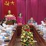 Đồng chí Trương Thị Mai làm việc với Đảng Đoàn Trung ương Hội Nông dân Việt Nam