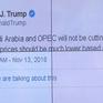 Tổng thống Mỹ chỉ trích kế hoạch cắt giảm sản lượng của OPEC