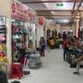 Chợ Bình Tây hoạt động trở lại, tiểu thương tất bật trưng bày hàng hóa