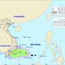 Vùng áp thấp trên Biển Đông mạnh lên thành áp thấp nhiệt đới, gây mưa dông ở các tỉnh phía Nam