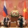 Chủ tịch Quốc hội tiếp Thủ tướng Liên bang Nga