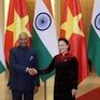 Chủ tịch Quốc hội hội kiến Tổng thống Ấn Độ