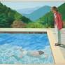 """Mức giá kỷ lục cho bức tranh đương đại """"Pool with Two Figures"""""""