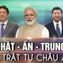 Nhật Bản tăng cường hợp tác với Trung Quốc và Ấn Độ