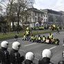 """Phong trào biểu tình """"áo vàng"""" lan sang Bỉ"""