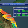 Mưa lớn ở miền Trung kéo dài đến 12/12, nguy cơ lũ quét, sạt lở đất