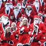 Hàng nghìn ông già Noel thi chạy gây quỹ