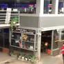 Tủ đựng đồ bỏ quên của hành khách tại bến xe Nước Ngầm, Hà Nội