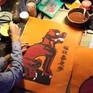 Hình tượng Nghê trong tranh Tết Kim Hoàng