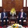 Chủ tịch nước Trần Đại Quang tiếp Đại sứ Mozambique chào từ biệt