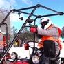 Người dân Belarus mở cuộc đua chạy máy kéo ủng hộ Olympic