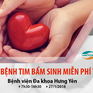 Khám sàng lọc tim bẩm sinh miễn phí cho trẻ em tại Hưng Yên