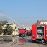 Dập tắt đám cháy tại khu công nghiệp Biên Hòa 2