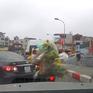 Xử phạt nữ tài xế quay đầu xe trên cầu và gây gổ