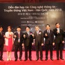 Nhiều hoạt động hợp tác về công nghệ thông tin giữa Việt Nam - Hàn Quốc
