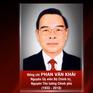 Hôm nay tổ chức trọng thể Lễ truy điệu, an táng nguyên Thủ tướng Phan Văn Khải