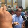 Bí thư Thành ủy TP.HCM Nguyễn Thiện Nhân có mặt tại hiện trường vụ cháy chung cư Carina Plaza