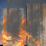 Đồ họa vụ cháy ở chung cư Carina Plaza