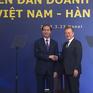 Chủ tịch nước Trần Đại Quang dự Diễn đàn doanh nghiệp Việt Nam - Hàn Quốc
