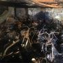 Cháy chung cư Carina Plaza: Thiêu rụi hàng trăm xe máy tại tầng hầm