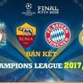 [INFOGRAPHIC] Điểm mặt 4 đội bóng dự vòng bán kết Champions League 2017/18