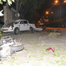 Tài xế đạp nhầm chân ga, xe bán tải tông 2 người tử vong