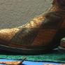Làm giày từ da cá ở Mexico