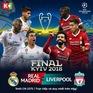 K+ độc quyền phát sóng chung kết Champions League và giải quần vợt Roland Garros