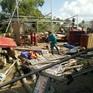 Lốc xoáy làm sập nhiều nhà dân tại thành phố Đà Lạt