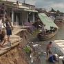 Tái diễn sạt lở ở Cần Thơ, 5 căn nhà chìm xuống lòng sông