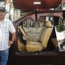 Độc đáo xe ô tô điện tự chế đầu tiên ở Việt Nam