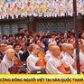 Cộng đồng người Việt tại Hàn Quốc tham gia Lễ tắm Phật