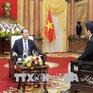Chủ tịch nước Trần Đại Quang trả lời báo chí Nhật Bản về quan hệ hai nước