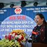 Phó Chủ tịch Quốc hội thăm hỏi bà con bị ảnh hưởng bởi sạt lở