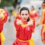 Thí sinh Hoa hậu Việt Nam khoe vẻ đẹp khỏe khoắn