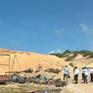 Thanh tra công trường khai thác titan lậu