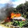 Chồng châm lửa đốt nhà sau khi cãi nhau với vợ