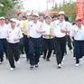 Hơn 1.000 người tham gia ngày hội chạy vì lá phổi khỏe mạnh