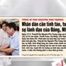 Lãnh đạo Đảng và Nhà nước tiếp xúc cử tri được phản ánh đậm nét trên các báo trong tuần