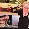 Hoàng tử Saudi Arabia ngồi xe cháu gái trong ngày phụ nữ được lái xe