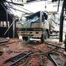 Tiền Giang: Xe tải lao vào nhà hàng lúc nửa đêm