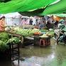 Lên phương án xử lý tình trạng ngập tại chợ Một Ngàn