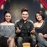 Quang Hà bảnh bao bên hai người đẹp VTV