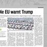 Liên minh châu Âu tìm cách dập tắt nguy cơ một cuộc chiến thương mại với Mỹ