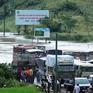 Quốc lộ 6 đoạn qua Hòa Bình - Sơn La vẫn bị ngập