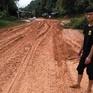 Sạt lở nghiêm trọng Quốc lộ 37, tỉnh Yên Bái
