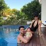 Siêu mẫu Hà Anh diện bikini khoe dáng nuột nà hơn 1 tháng sau sinh
